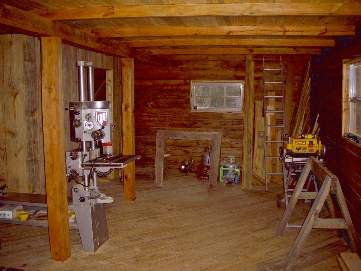 the shop build. Black Bedroom Furniture Sets. Home Design Ideas